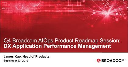DX APM Q4 Roadmap