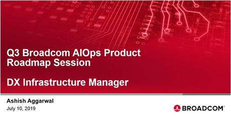 DX Infrastructure Manager Q3 Roadmap - EMEA/APJ