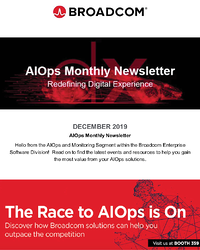 AIOps and Monitoring Newsletter - December 2019