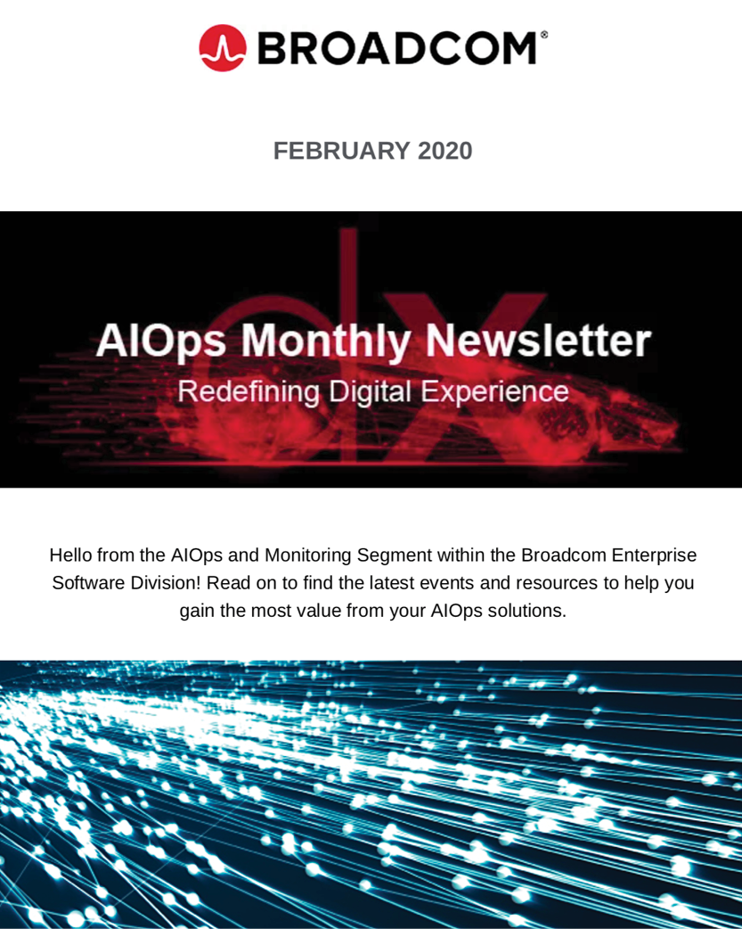 AIOps and Monitoring Newsletter - February 2020