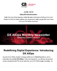AIOps and Monitoring Newsletter - June 2019