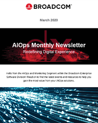 AIOps and Monitoring Newsletter - March