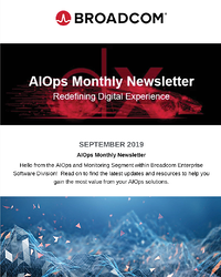 AIOps and Monitoring Newsletter - September 2019